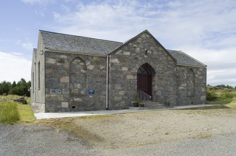 View of Manish Free Church, Harris, from north-east.