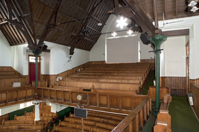 Interior. View from balcony to south east.