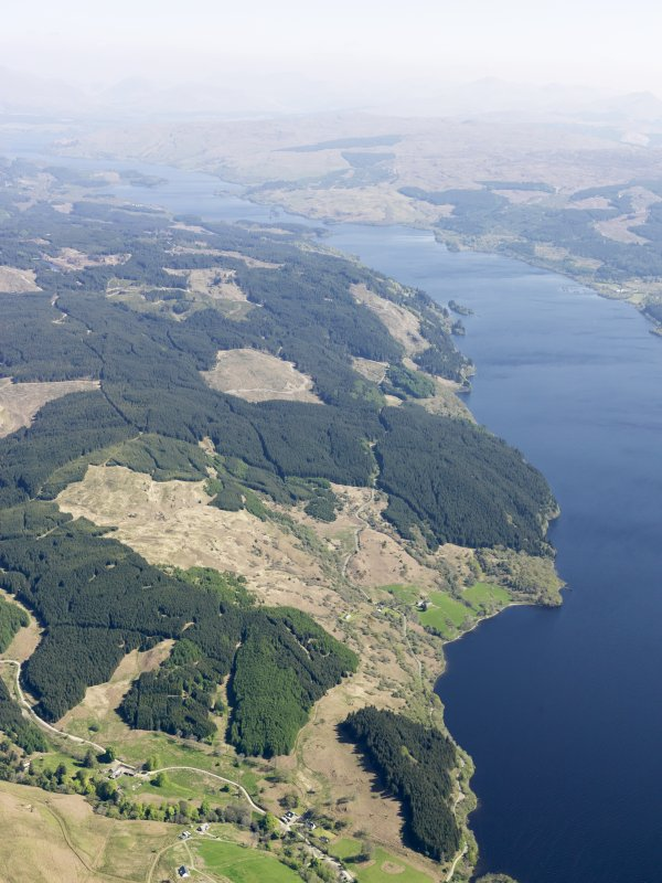 General oblique aerial view of Loch Awe, taken from the W.