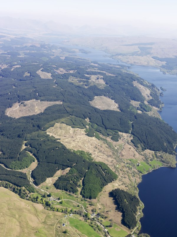 General oblique aerial view of Loch Awe, taken from the WNW.