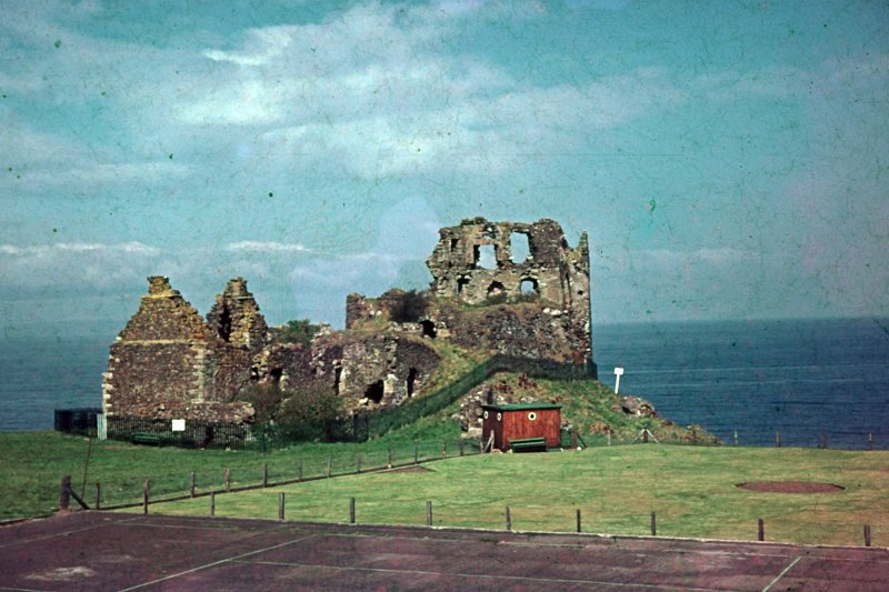 Dunure Castle Remains.