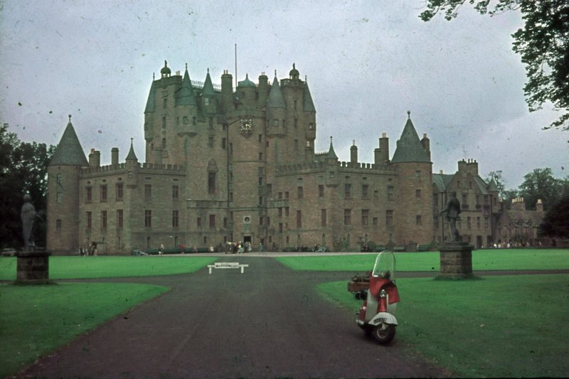 Glamis Castle. South East View
