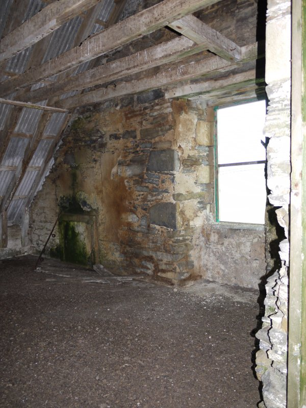 View of first floor in Hall of Clestrain House, Orkney.