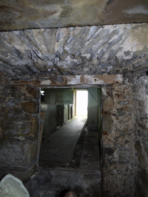 Interior view of Hall of Clestrain House, Orkney.