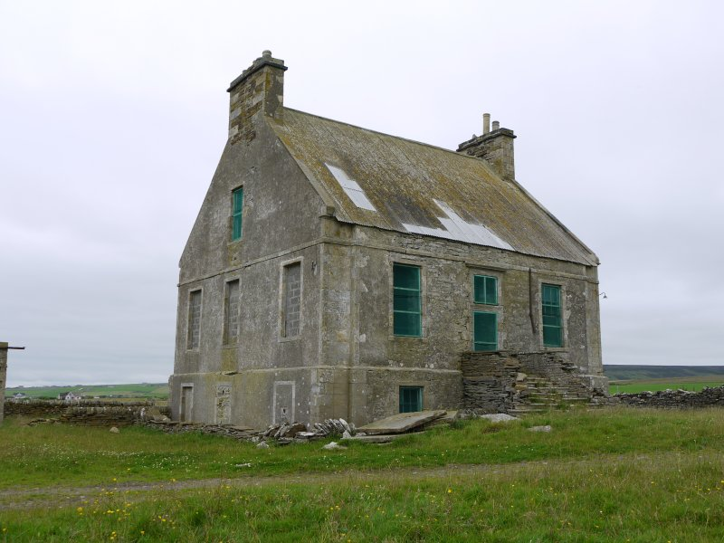 View of Hall of Clestrain House, Orkney, from south-west.