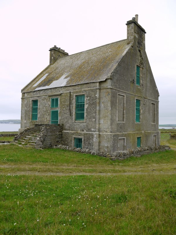 View of Hall of Clestrain House, Orkney, from south-east.