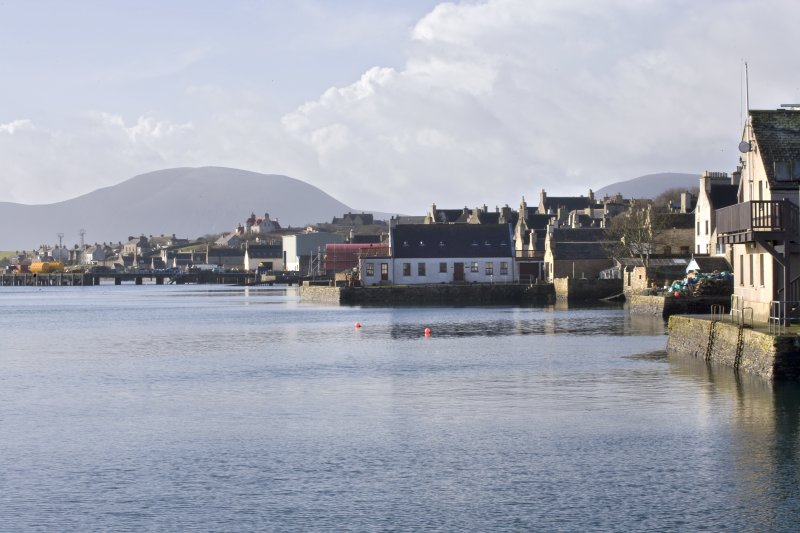 General view of Stromness, taken from the N.