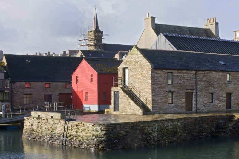 View of The Pier Arts Centre, Stromness, taken from the NE.