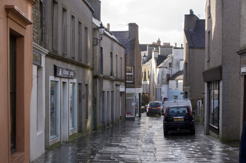 General view of Victoria Street, Stromness, taken from the N.