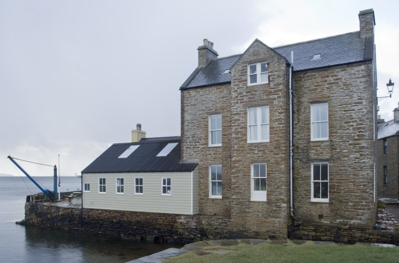 View of house at South end, Stromness, taken from the NW.