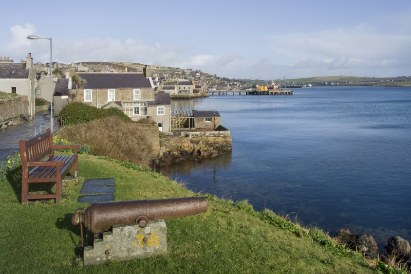 General view of Stromness, taken from the S.