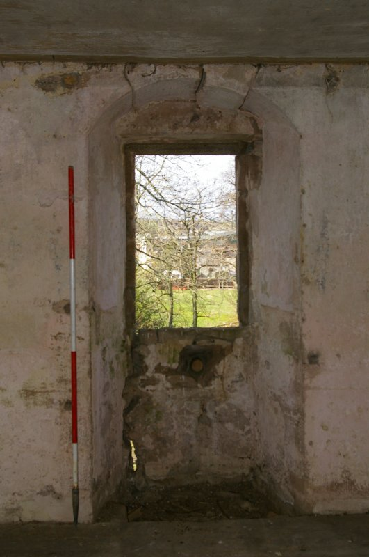 Window in Room 2, Second Floor, View from West