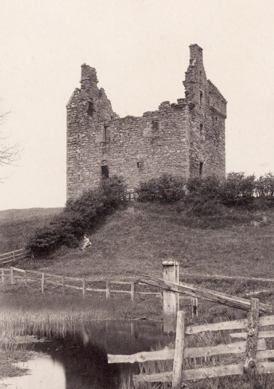 Page 16/2.  General view. Titled 'Baltersan'. PHOTOGRAPH ALBUMS No 113: OLD SCOTTISH BARONIAL HOUSES 1870S & 80S