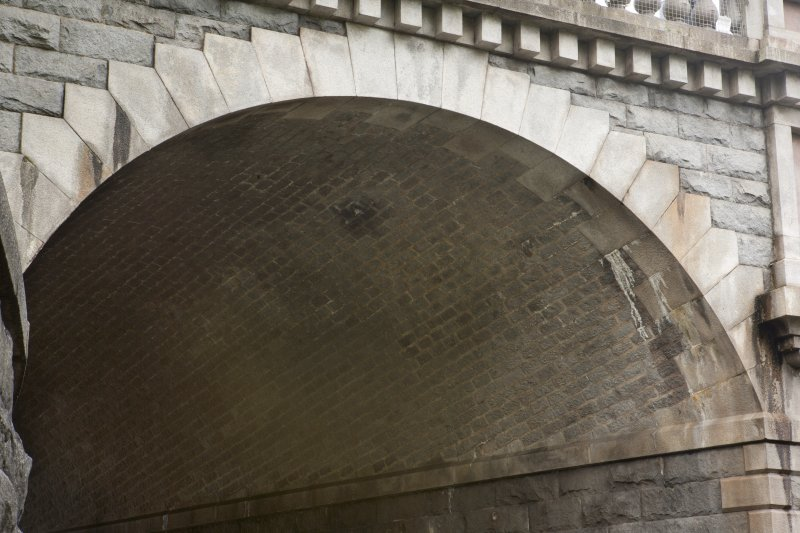 Detail of underside of Denburn viaduct vault.
