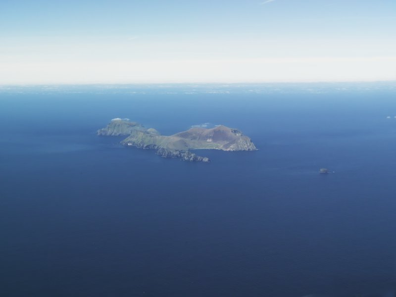 General oblique aerial view of St Kilda, taken from the S.