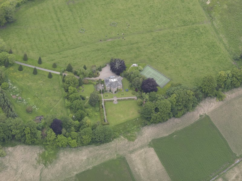 Oblique aerial view of Seaside House, taken from the SSE.