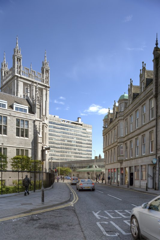 View from north looking down Gallowgate to St Nicholas House.
