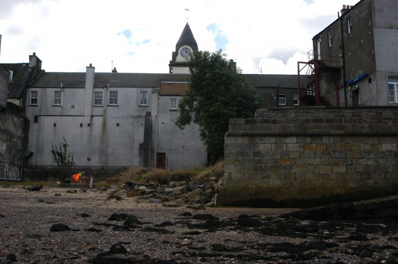 Photograph from standing building recording, archaeological evaluation and watching brief at Orocco Pier Hotel