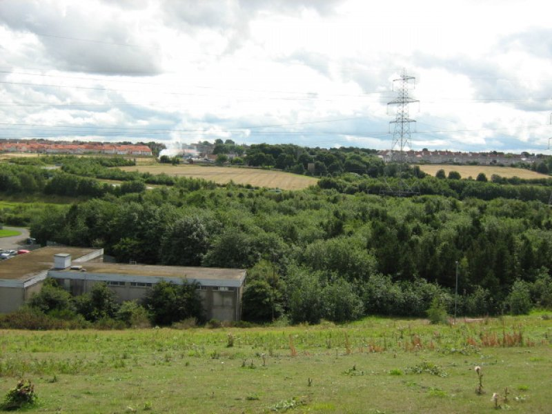 View of Tranent from the N.