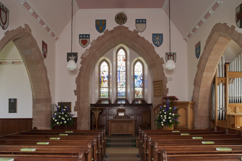 View of church interior from West.