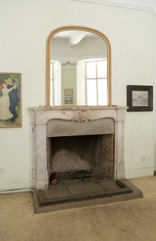First floor. Drawing room fireplace.
