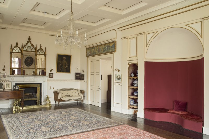 1st floor. Drawing room from south west.