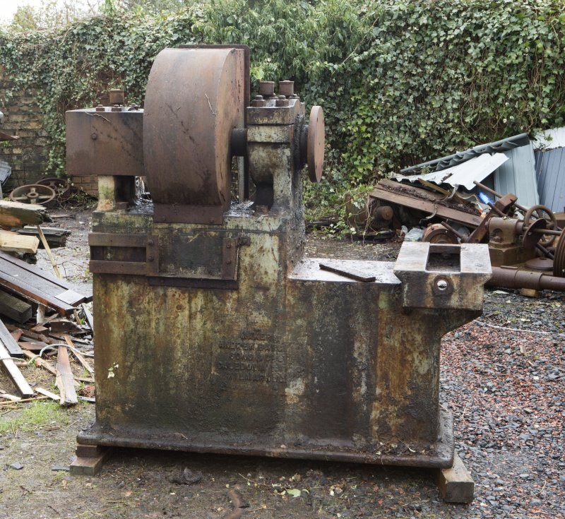 View of Andrew Barclay Co. Ltd-built Grinding Machine (grinding now carried out by Lathe 4). Now disused.