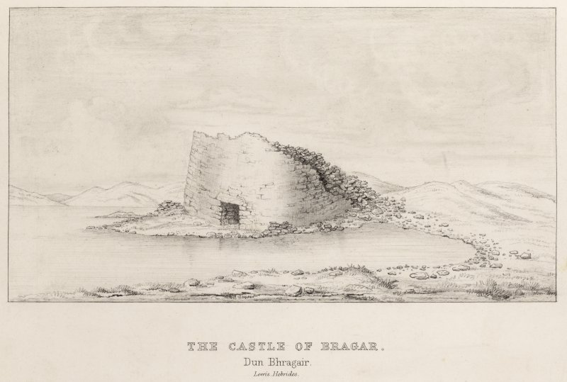 View of Bragar broch.