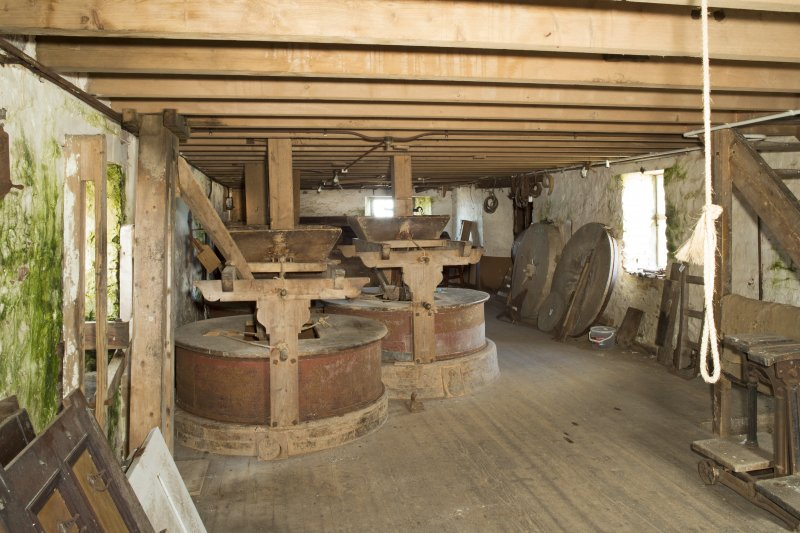 Interior. General view looking north within the first floor of the mill.