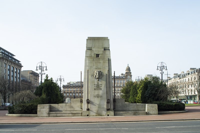 General view of Cenotaph taken from the east.