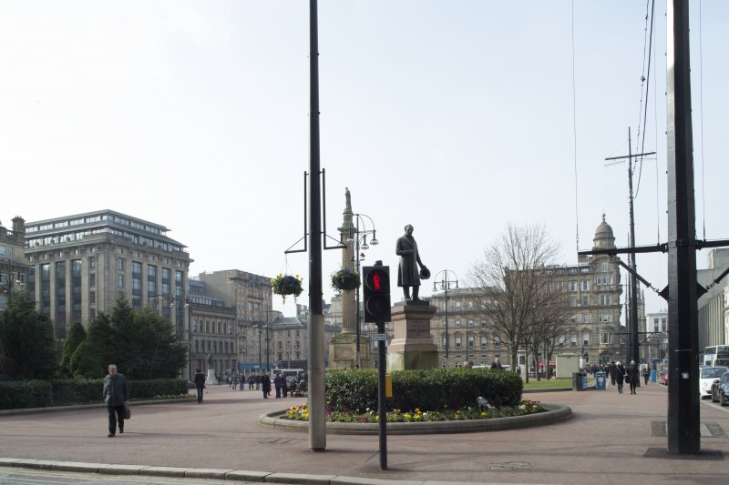 General view of north side of George Square taken from the east.