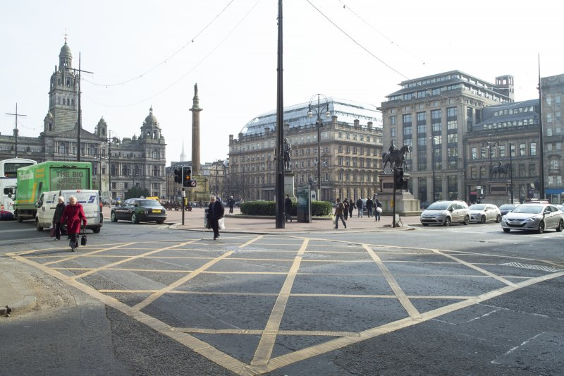 General view of George Square taken from the north west.