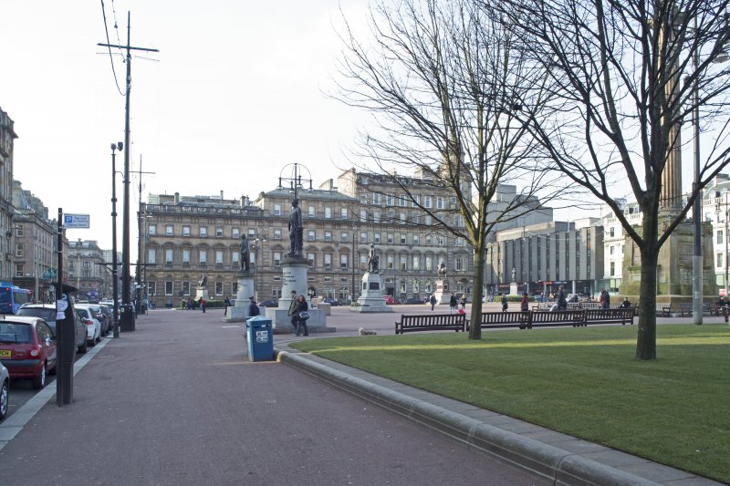 General view of the south side George Square taken from the east.