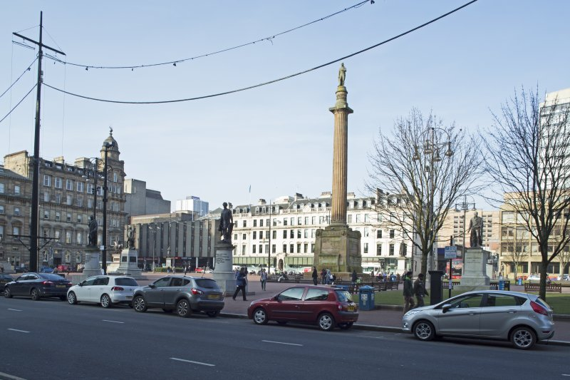 General view of the south side George Square taken from the south east.