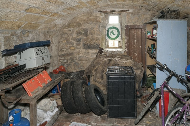 Interior. View of beer cellar.
