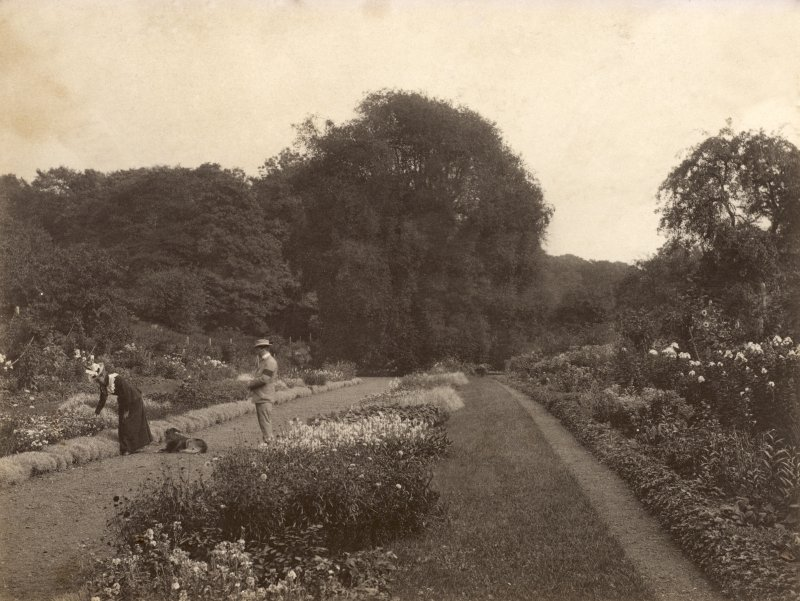 Page 14v View of garden. PHOTOGRAPH ALBUM NO 248: Douglas Support