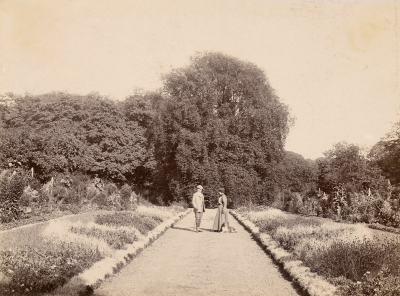 Page 15 View of garden path. PHOTOGRAPH ALBUM NO 248: Douglas Support