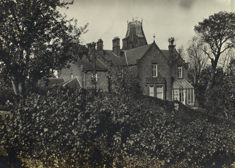 Dalmore House. From family album of Mr K Montgomerie. Survey of Private Collection