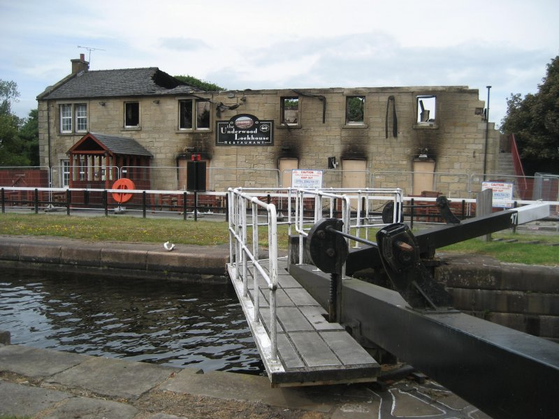 Front Elevation with Lock 17 in Foreground