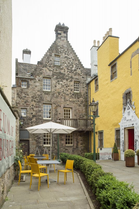 General view of Slater's Court, Canongate, Edinburgh, from NE.