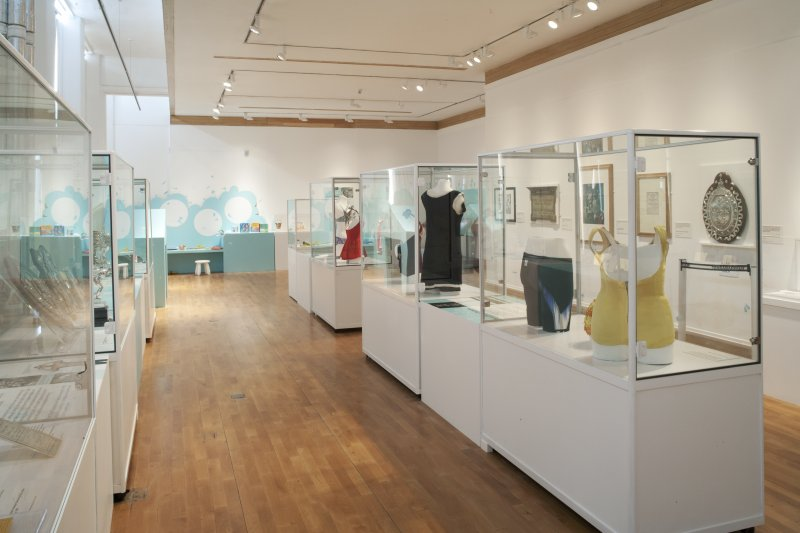 Interior. View of Temporary Exhibition Area.