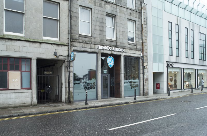 General view of the Brewdog Bar frontage, taken from south east
