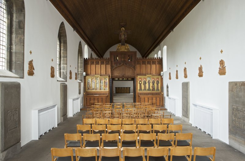 Interior. Church, nave, view from west