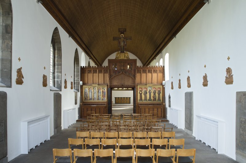 Interior. Church, nave, view from south west