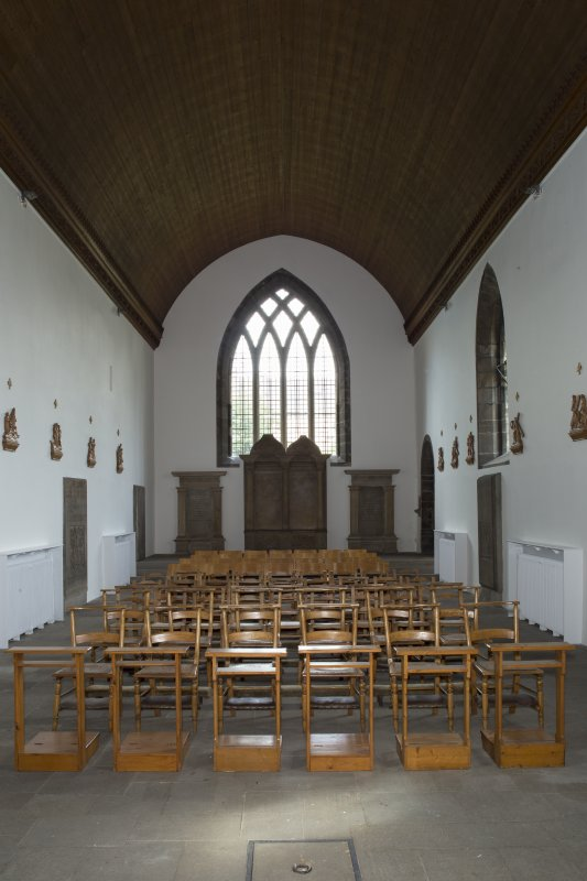 Interior. Church, view from north east