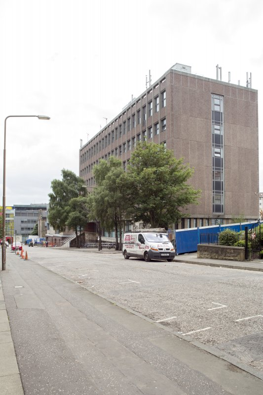 General view of St John's Street, showing Charteris Land, Moray House College of Education, Edinburgh, from N.