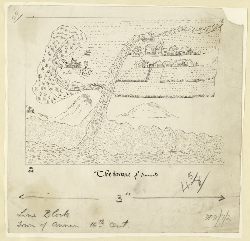 Publication drawing: Annan, c1560.