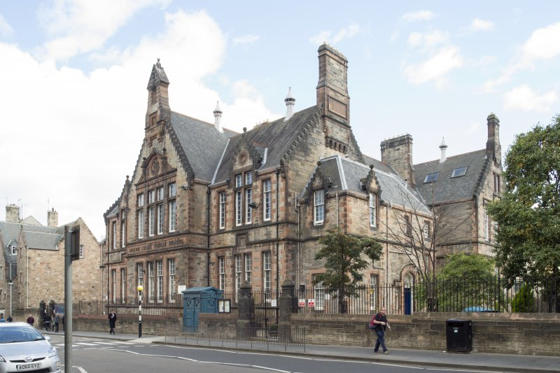 General view of Milton House School, 86 Canongate, Edinburgh, from NW.