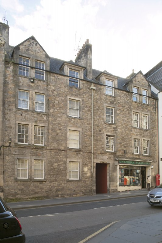 General view of Bull's Close, 106 Canongate, Edinburgh, from N.