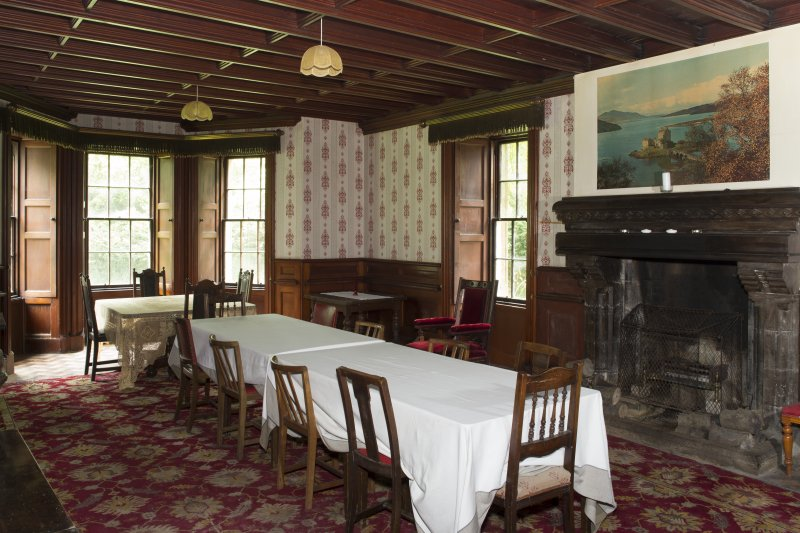 Ground Floor General view of Dining Room.